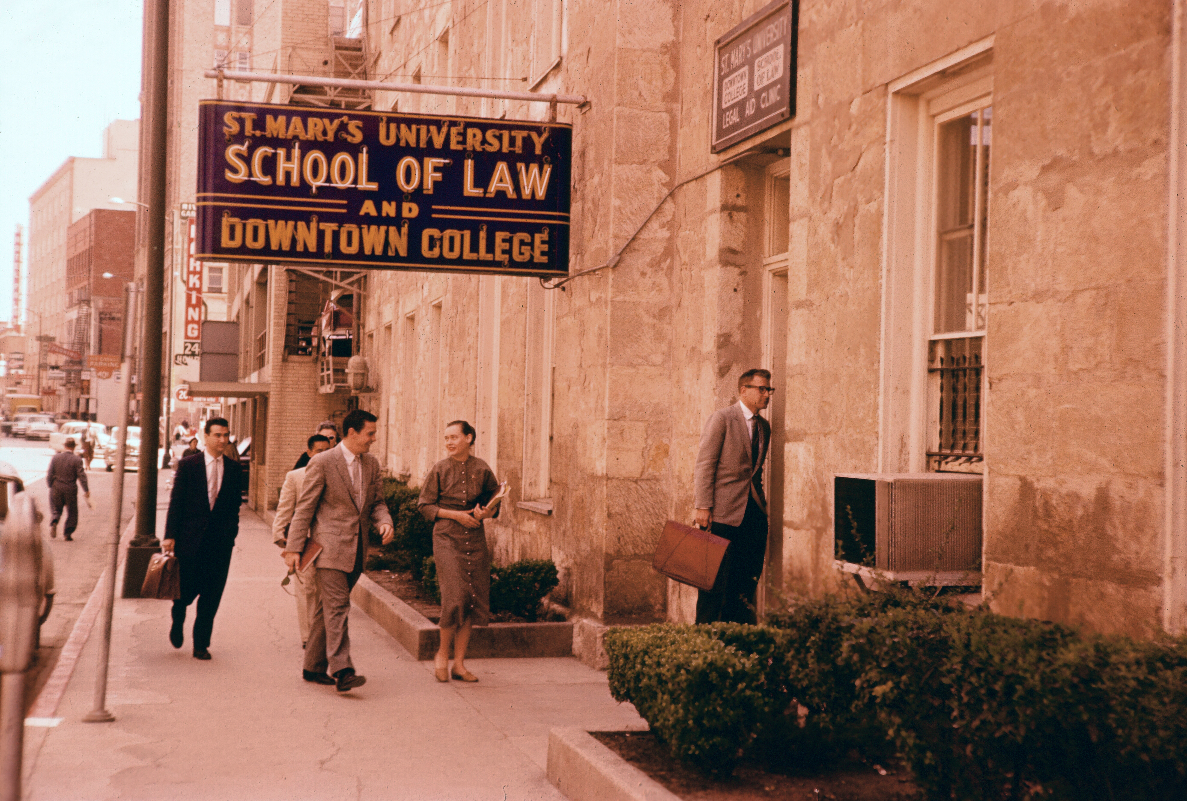 St Mary'S Law School >> St Mary S University School Of Law Students Downtown