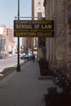 St. Mary's University School of Law Sign, Downtown Campus by St. Mary's University School of Law