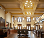 Bexar County Double Height Courtroom 2