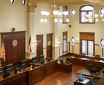 Bexar County Double Height Courtroom 3