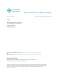Theological Questions