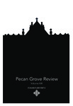 Pecan Grove Review Volume 19 by St. Mary's University